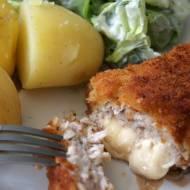 Szwajcar - kotlet schabowy z żółtym serem