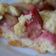 Ciasto jabłkowo - rabarbarowe