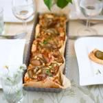 Francuska tarta z gruszka i serem roguefort