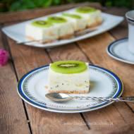 Jogurtowe ciasto z kiwi i bananem
