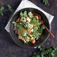 Ryż sezamowy w bukietem warzyw