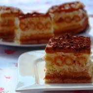 Ciasto z rurkami - bez pieczenia