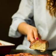 muffinki z rabarbarem i truskawkami (paleo)