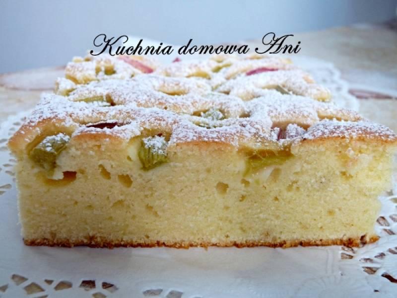 Szybkie sezonowe ciasto na oranżadzie