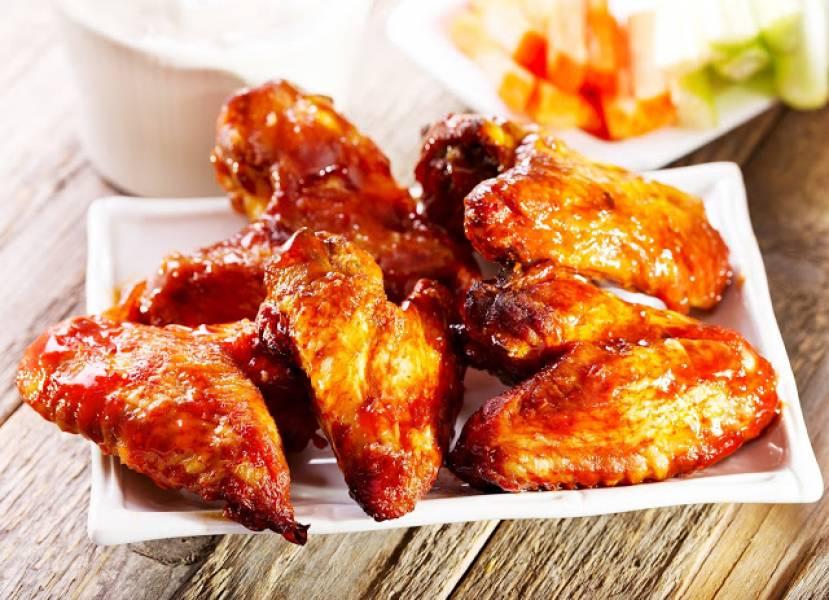 Kurczak z piekarnika : skrzydełka w miodzie, przepis