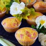 Najprostsze i najlepsze muffinki z rabarbarem