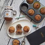 Orkiszowe muffinki makowo – kajmakowe