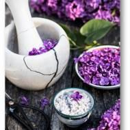 Cukier aromatyzowany kwiatami bzu