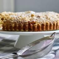 Najprostsze ciasto z owocami - ucierane z truskawkami