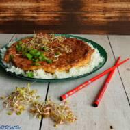 Omlet z mieloną wieprzowiną - Khai Jiao Sab