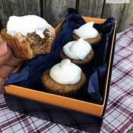 Muffiny dyniowe z bitą śmietaną, przepis szybki do wykonania