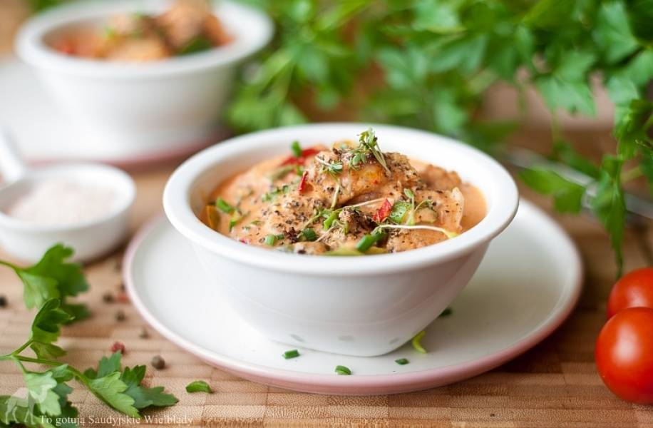 Tradycyjne curry z kurczaka