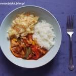 Gulasz paprykowy z kurczaka