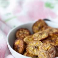 Pieczone chipsy z plantana – zdrowa przekąska