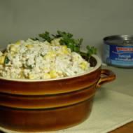 sałatka z tuńczykiem i ryżem #MasterTuńczyk