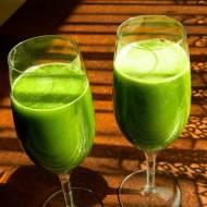 Zielony sok z wyciskarki wolnoobrotowej + filmik