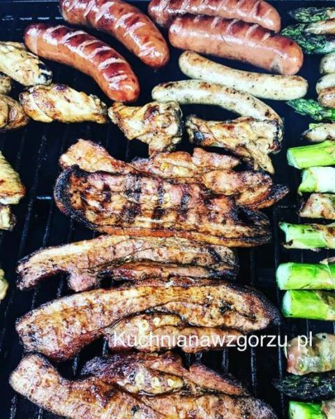 Boczek z grill, pyszny i prosty przepis