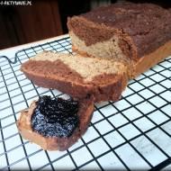 Ciasto bananowe z gorzką czekoladą (bez glutenu)