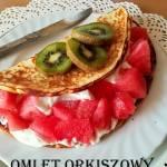 Prosty omlet orkiszowy