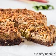 Ciasto z rabarbarem i kruszonką – ciasto bez mąki