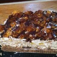 Tiramisu z galaretką i brzoskwiniami -idealny deser na zbliżające się dzień Matki