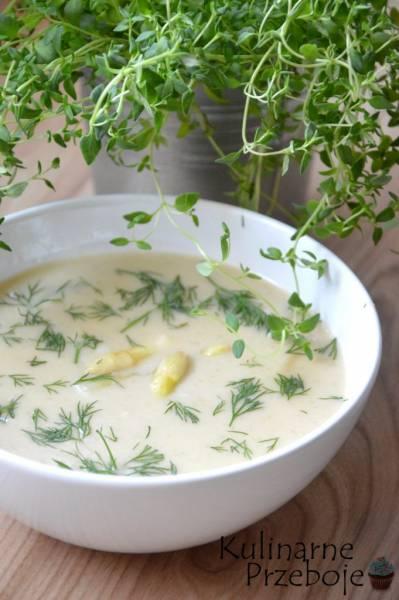 Przepis Na Zupa Szparagowa Krem Z Bialych Szparagow Kulinarne
