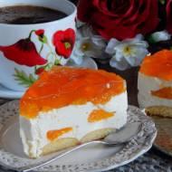Delikatne ciasto z mandarynkami bez pieczenia