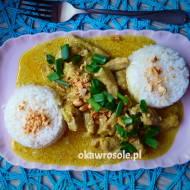 Kuczak curry z mleczkiem kokosowym