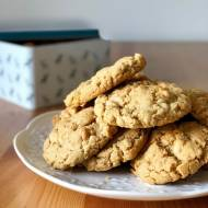Orzechowe ciasteczka owsiane