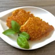 Filet z kurczaka w cieście serowym