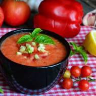 Pomidorowo - paprykowy chłodnik z nutką ostrości