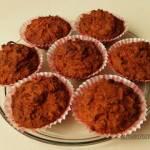 Muffinki marchewkowe - bezglutenowe