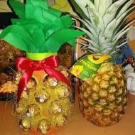 Ananas z wina i ferrero rocher-pomysł  na super prezent