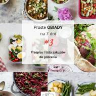 Co w maju do lunchboxa? - Proste obiady na 7 dni #3 (PDF do pobrania)