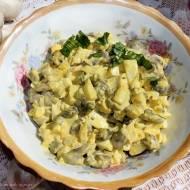 Najprostsza sałatka pieczarkowa z jajkami