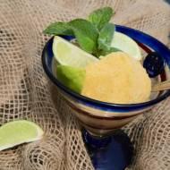 Sorbet z mango I limonek