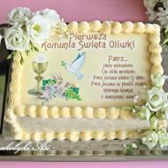 Tort komunijny wielosmakowy