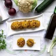 Kotleciki z kalafiora i cukinii – wegańskie i bezglutenowe – przepis krok po kroku