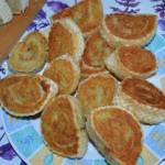 Roladki ziemniaczane w waflu