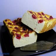 Ciasto jaglano - serowe z malinamil - Jaglany sernik z malinami