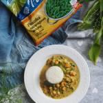 Curry z ciecierzycą i fasolą szparagową