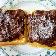 Bezglutenowe gofry z kremem czekoladowym