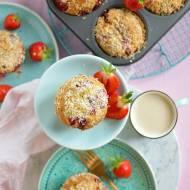 Najprostszy przepis na muffinki z truskawkami i kokosem!