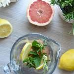 Lemoniada cytrusowo – ziołowa