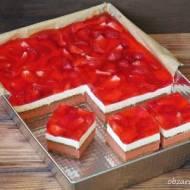 Ciasto truskawkowe bez pieczenia