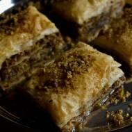 Co na deser ? Baklava - słodki przysmak z bliskiego wschodu