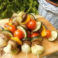 Szaszłyki wegetariańskie