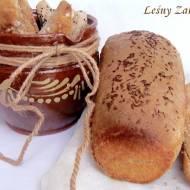 Chleb na okrągło, żytni z kminkiem