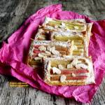 Rabarbarowe tartaletki frangipane - expresowe
