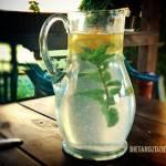 Orzeźwiający napój cytrynowo-miętowy
